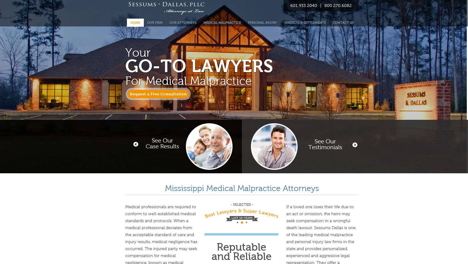mississippi best law firm website designs a to z