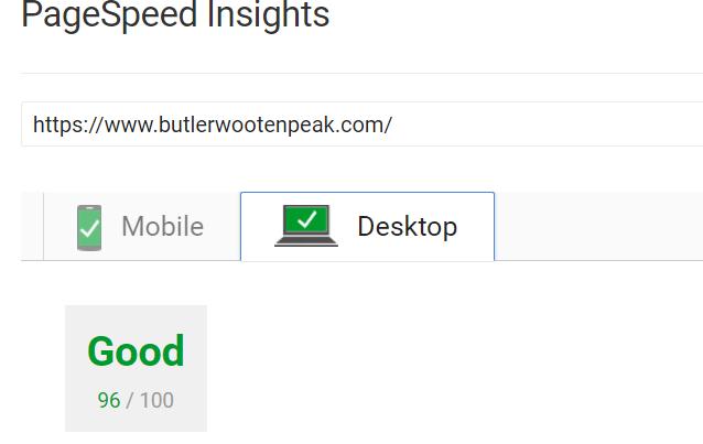 butler load speed